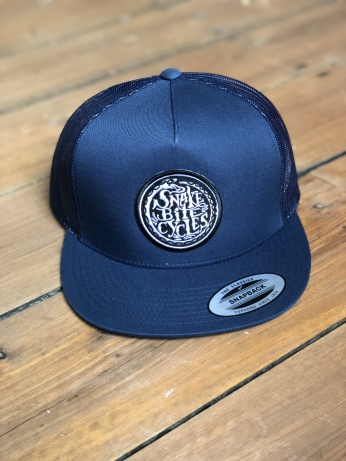 Snakebite Cycles Chopperhead Cap navy